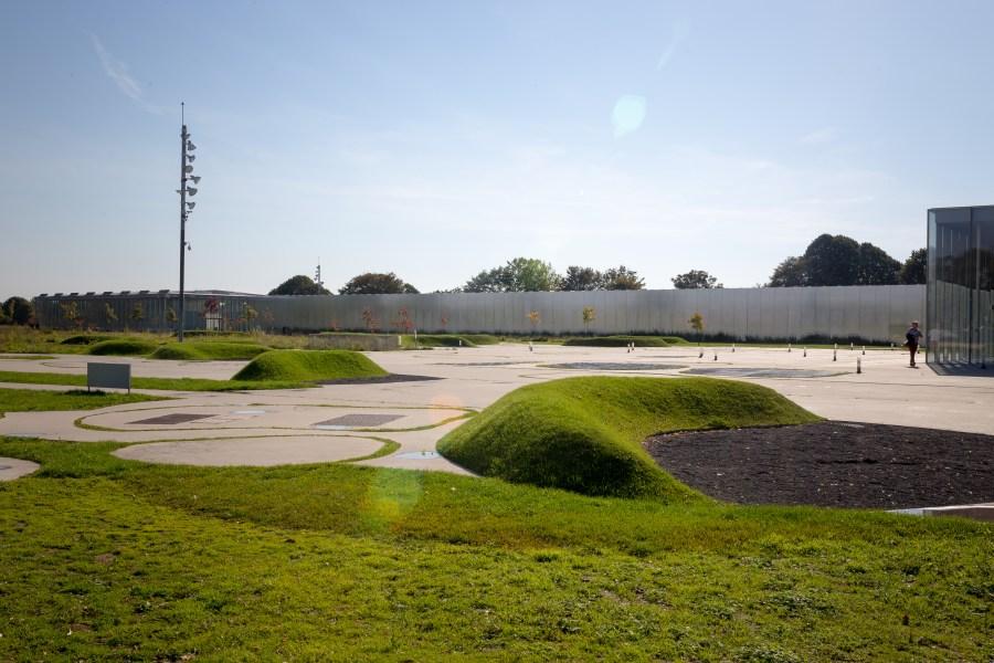 Le parc du musée Louvre Lens
