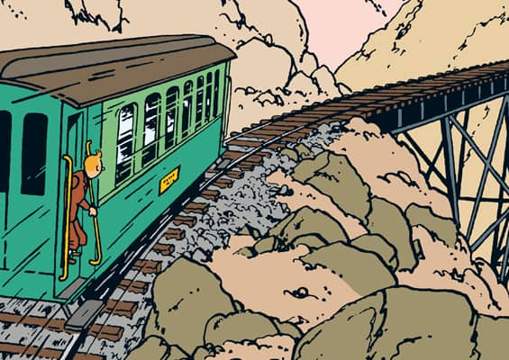 chateau-cheverny-loire-moulinsart-musee-exposition-tintin-herge-action-train