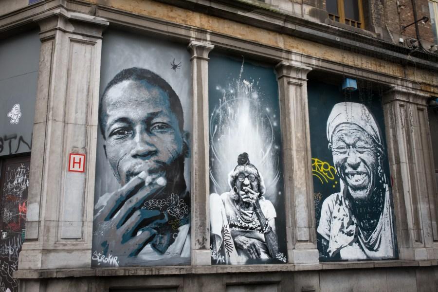 Bruxelles-belgique-street art-ville-art-graffiti-portraits