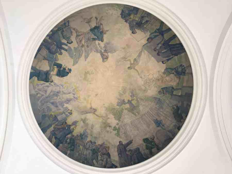 valenciennes-hainaut-visites mystères-autour du louvre lens-musee-beaux arts-architecture-coupole-jonas