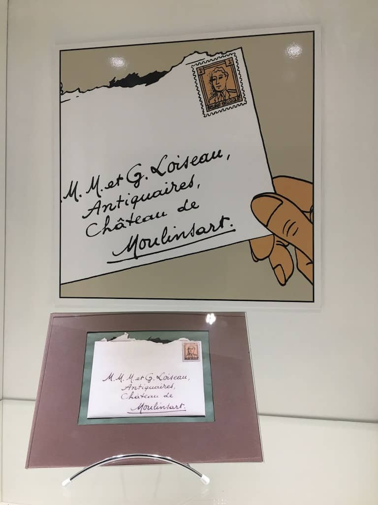 chateau-cheverny-loire-moulinsart-musee-exposition-tintin-herge-bd-lettre