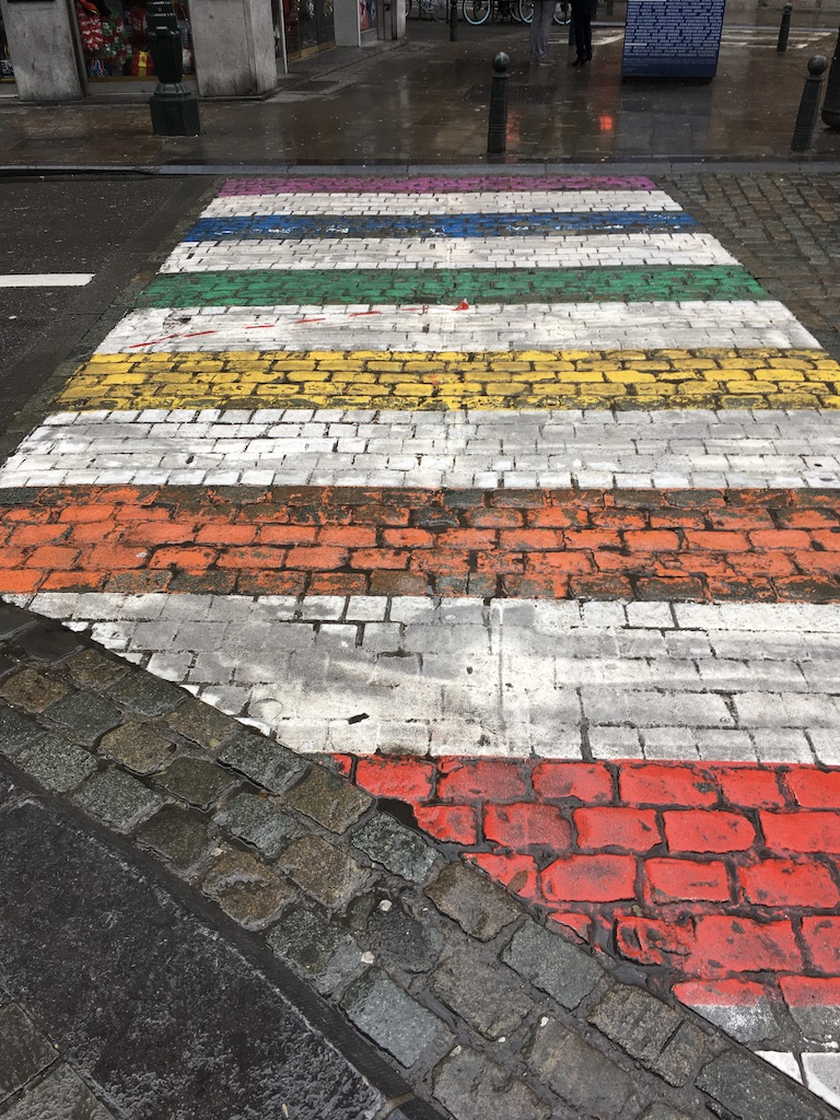 Bruxelles-belgique-street art-ville-art-graffiti-passage piéton