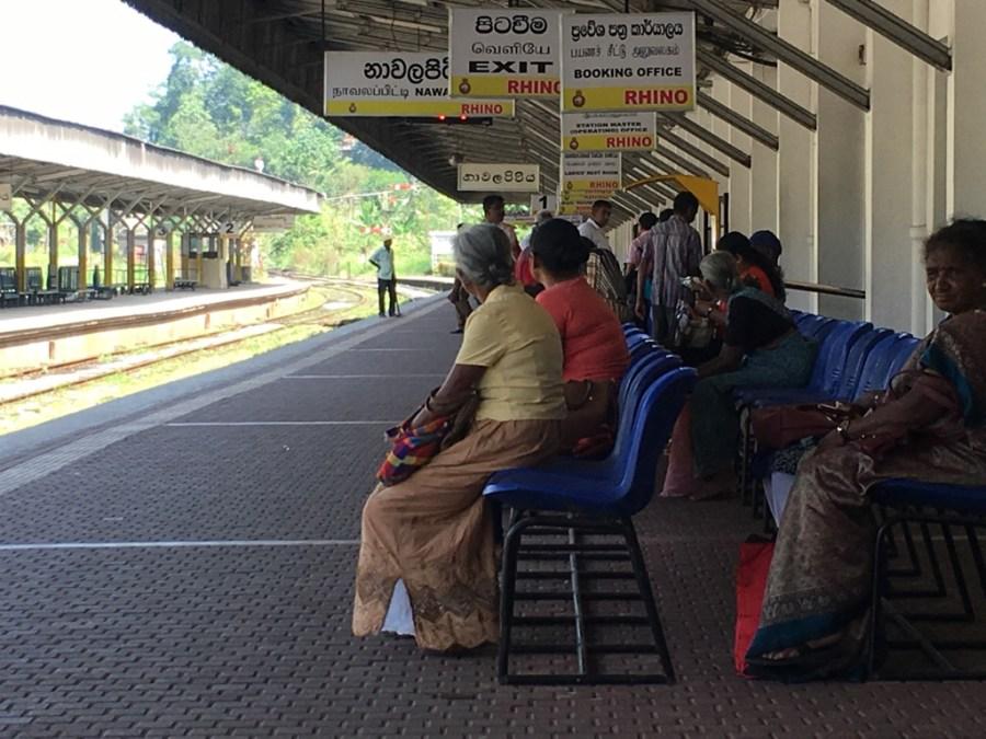 Gare au Sri Lanka