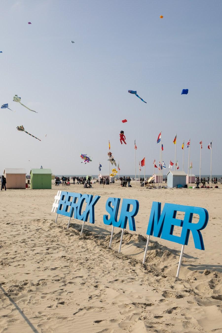 Berck sur Mer les rencontres internationales des cerfs volants