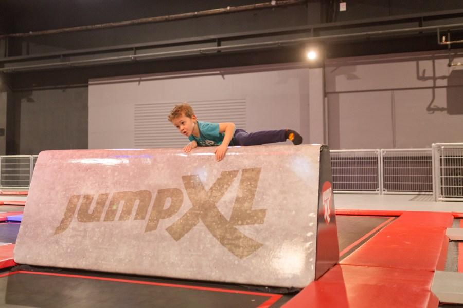 Jump XL parcours ninja warriors