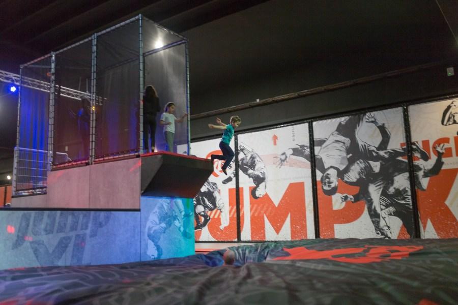 Saut au Jump XL à Valenciennes