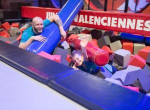 Bataille en famille au Jump XL à Valenciennes