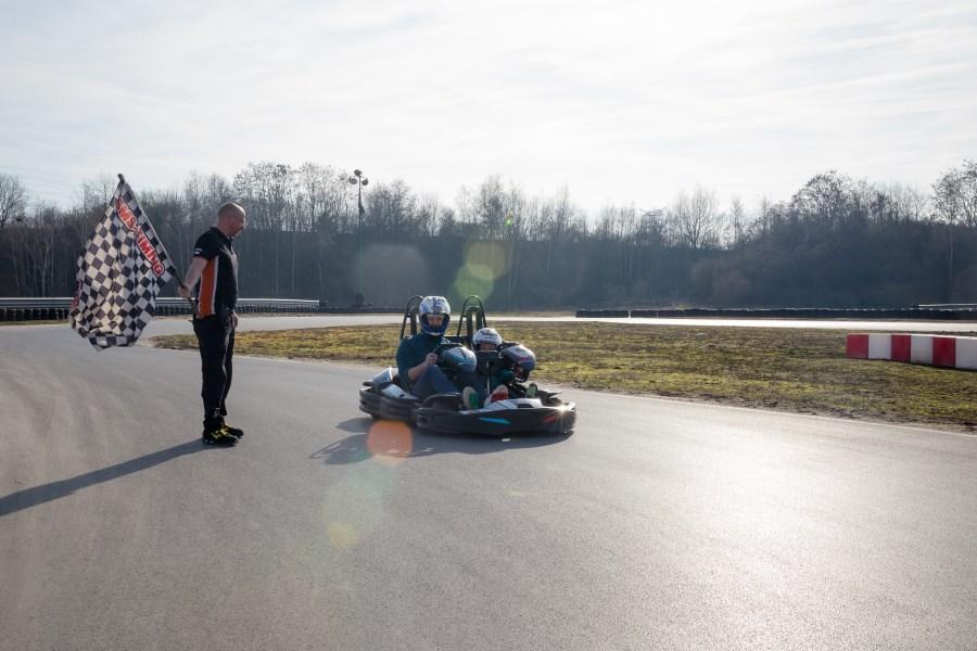 Circuit karting du DKS Motor à Petite Forêt