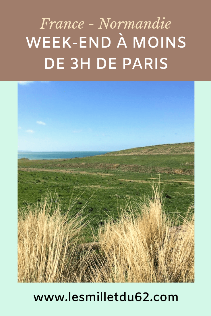 Week-end en Normandie à moins de 3h de Paris