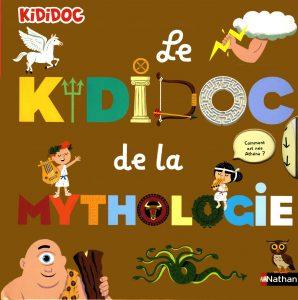 Livre kididoc la mythologie pour les enfants