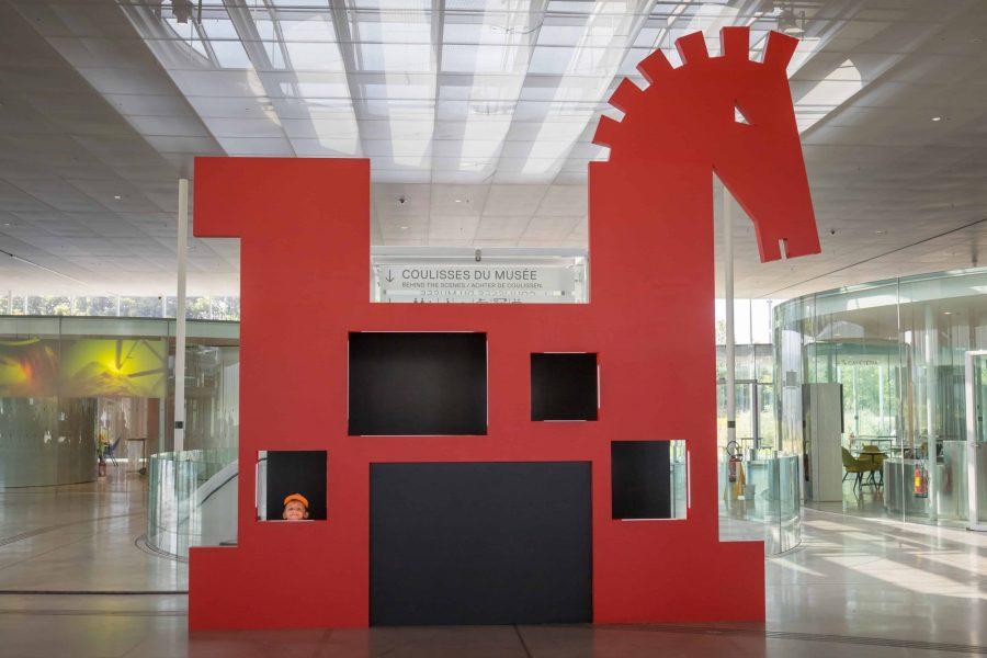 Exposition Homère au musée du Louvre Lens en famille