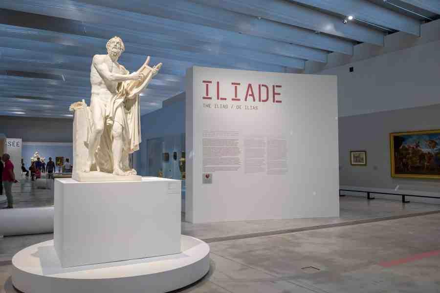 L'ilade et l'odyssée au musée du Louvre Lens