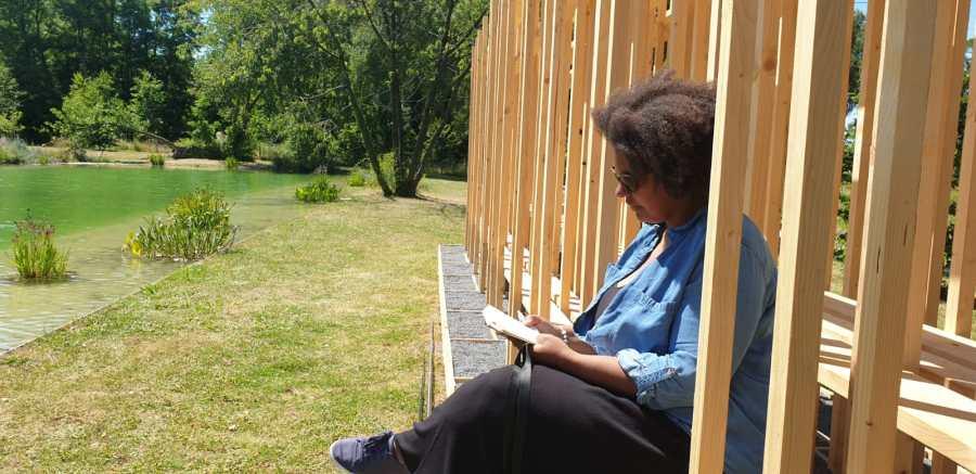 Coin lecture à Parc en fête à Lens