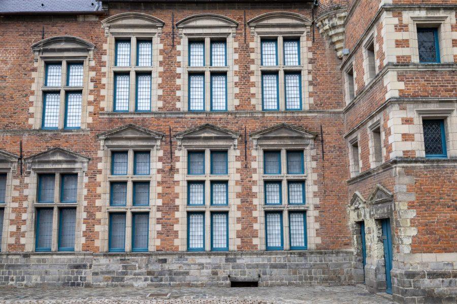 Façade du musée de la chartreuse à Douai