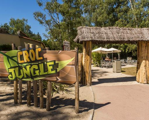 Restaurant Croc Jungle à la Mer de Sable