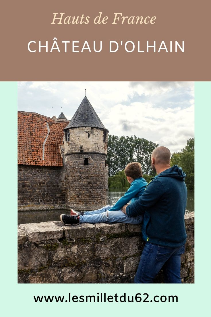 Epingle pinterest château d'Olhain