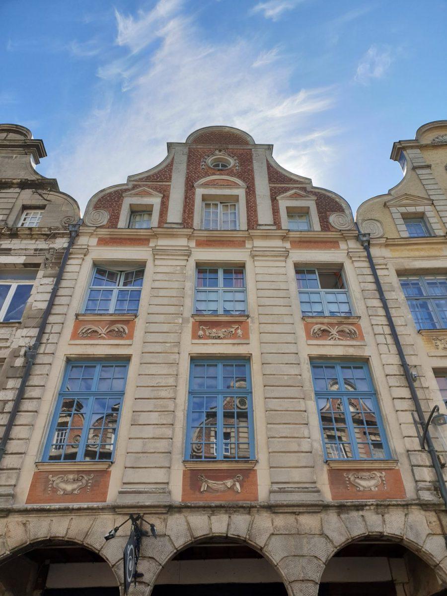 Architecture des maisons d'Arras