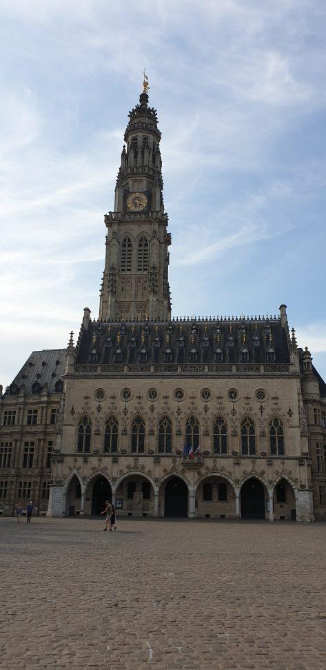 Beffroi d'Arras patrimoine mondial de l'UNESCO