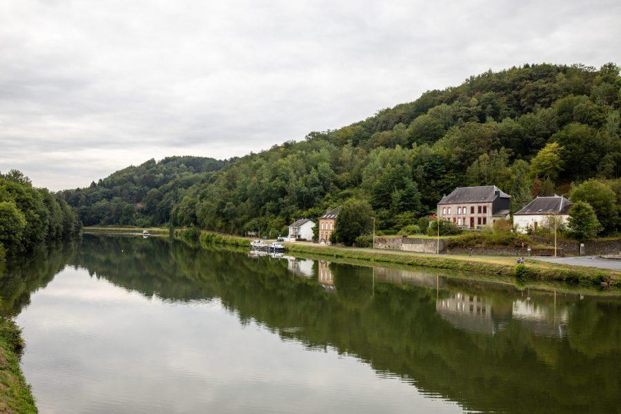 La Meuse à Monthermé