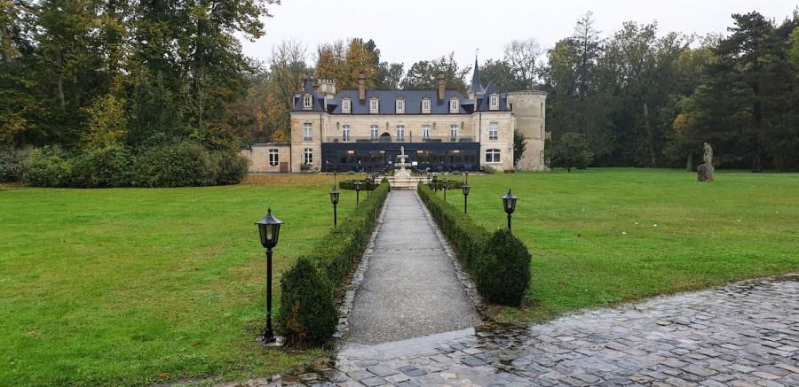 Façade du Château de Breuil à Laon