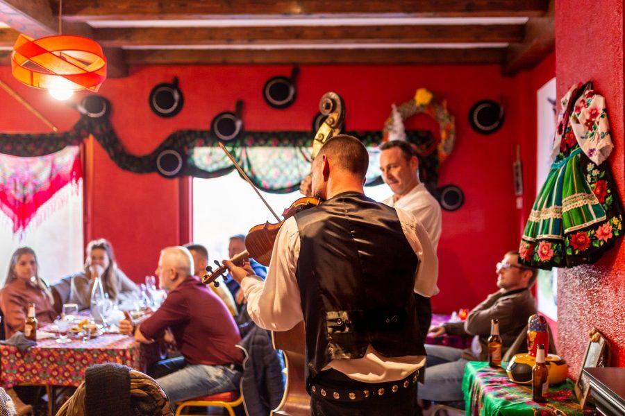 Groupe de musiciens chez Babcia à Lens