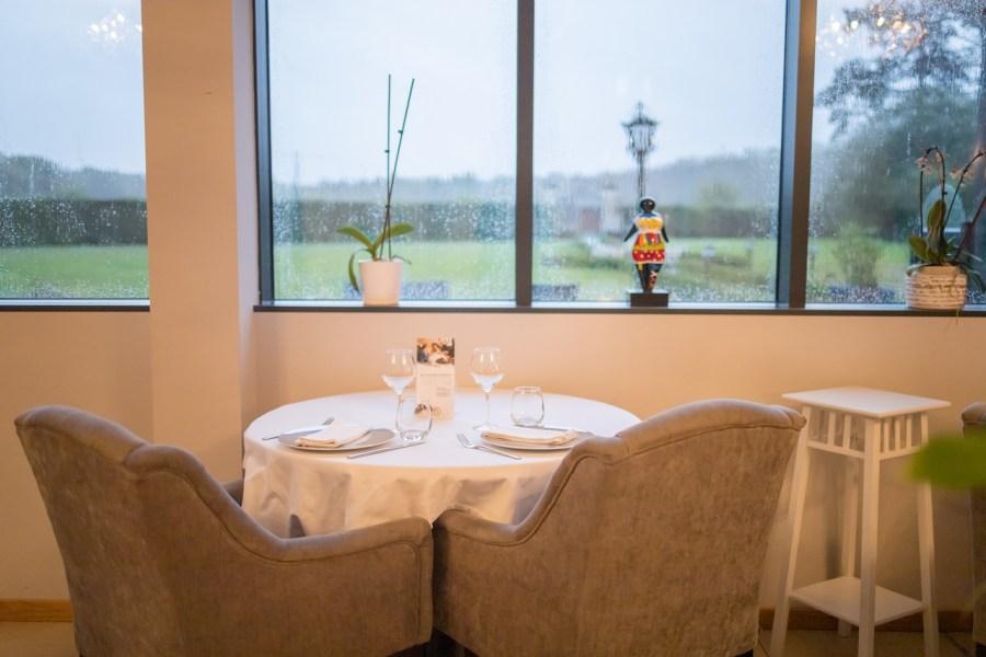 Restaurant gastronomique au château de Breuil