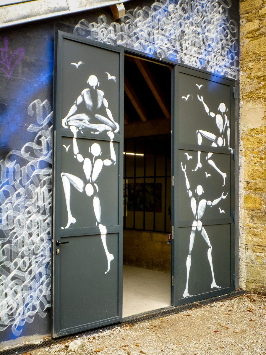 Street art au MAUSA dans le Jura