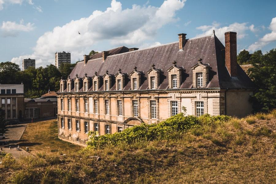 Le palais des princes à Sedan