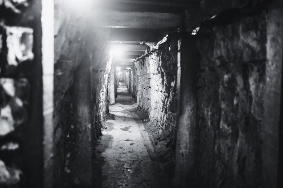 Dans les souterrains de Vimy
