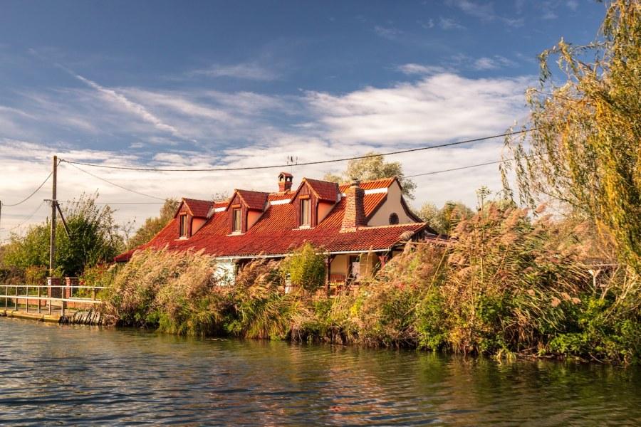 Maison sur les marais audomarois