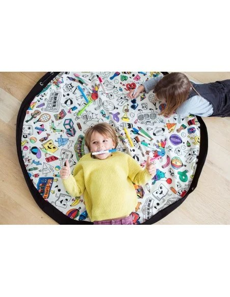 sac tapis a colorier play and go