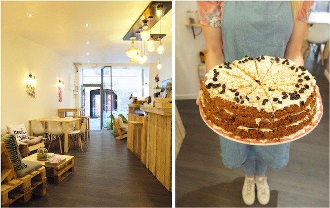 carrot cake Kai-Iwi café grenoble