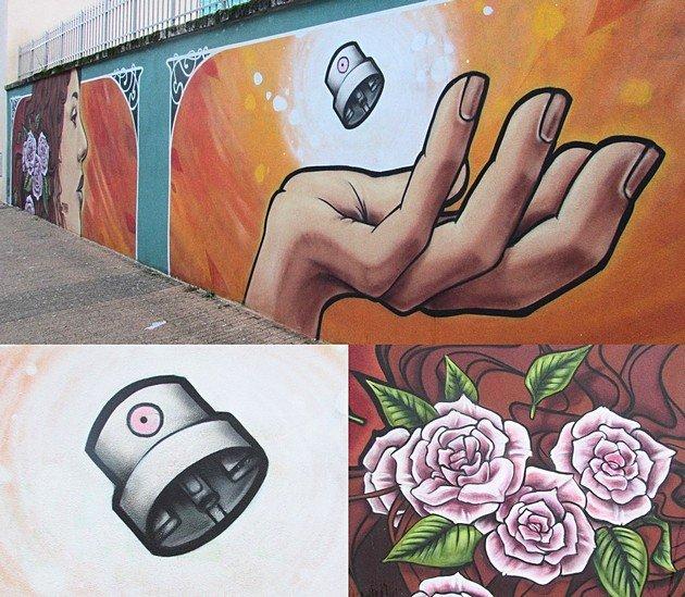 Street Art Grenoble Etien
