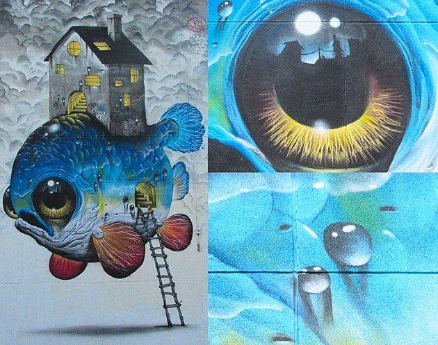 Street Art Grenoble Veks Van Hillik