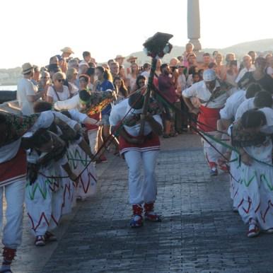 Festa Major de Sitges. Ball de cintes