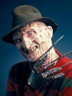 """""""Freddy"""" Krueger. Font: Wikipedia"""