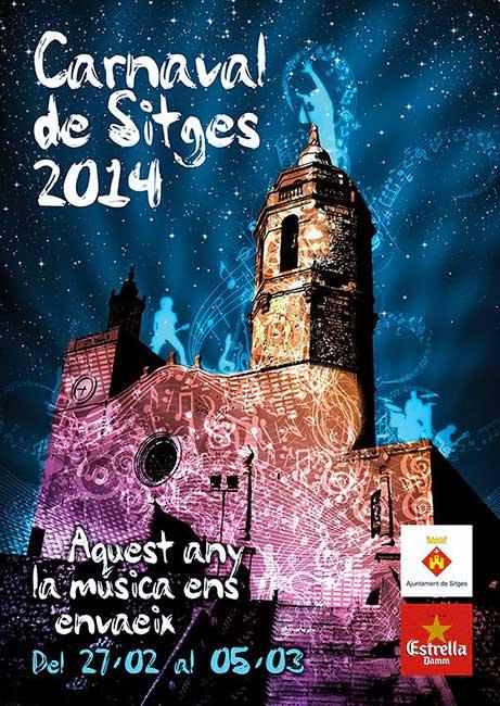 Cartel Carnaval Sitges 2014