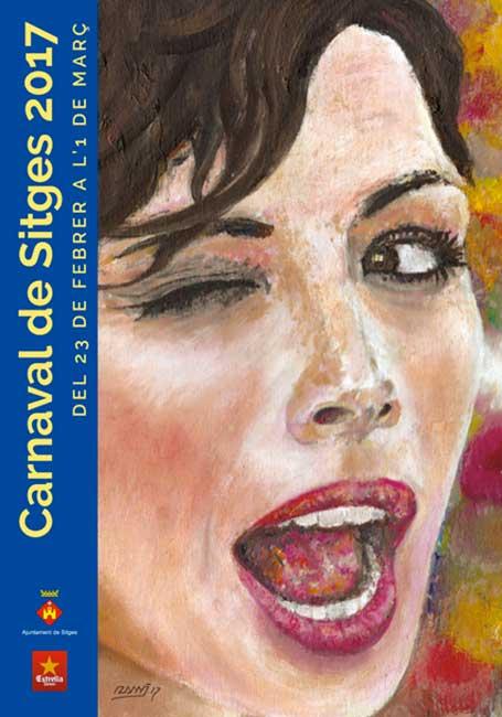 Cartel Carnaval Sitges 2017
