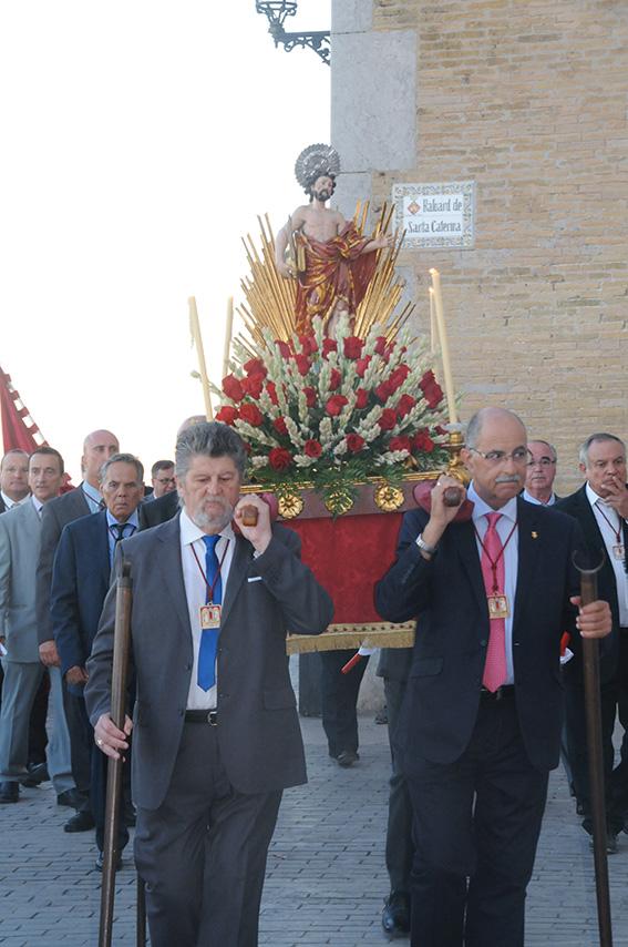 Processo i pas de Sant Bartomeu de la Festa Major de Sitges
