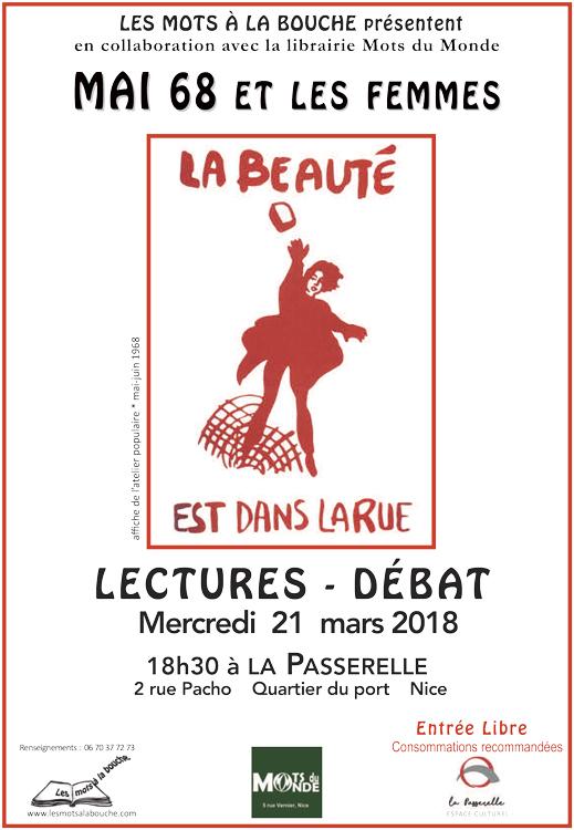 mai 68 lecture debat association culturelle