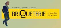 logo librairie Briqueterie Nice