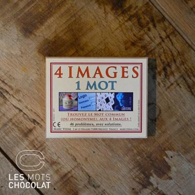 Jeu 4 images 1 mot - Les Mots chocolat