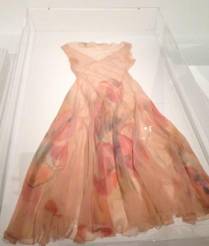 Robe en mousseline imprimée Sonia Delaunay