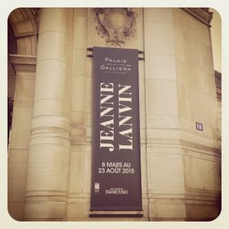 Exposition Jeanne Lanvin au palais Galliera