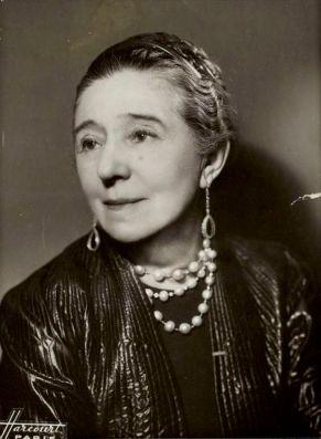 Portrait de Jeanne Lanvin par Harcourt
