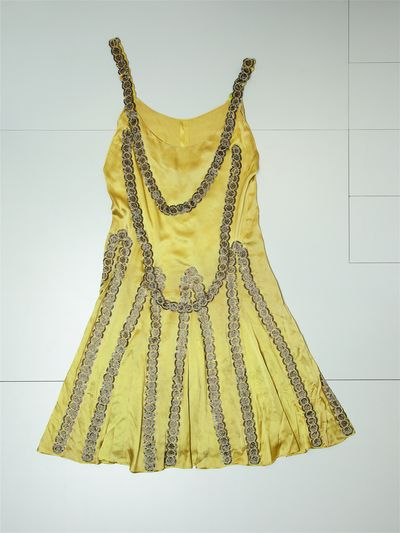 Lesbos, robe du soir Lanvin 1925