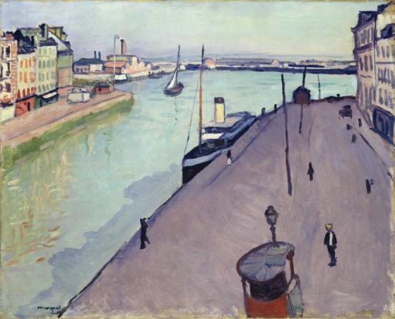 Albert Marquet, Vue du Port de Havre