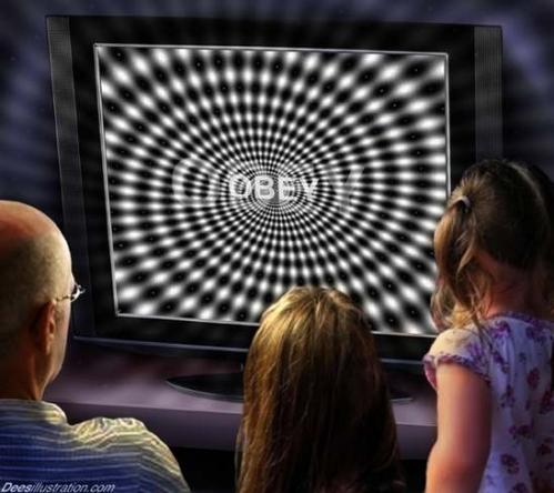 manipulation ecran de tele