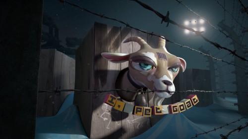 Pet I goat II