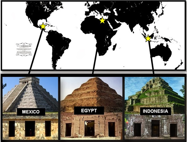 01 mexico egypt indonesia pyramids connection atlantis